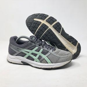 ASICS GEL Contend 4 Gray Silver Sneakers
